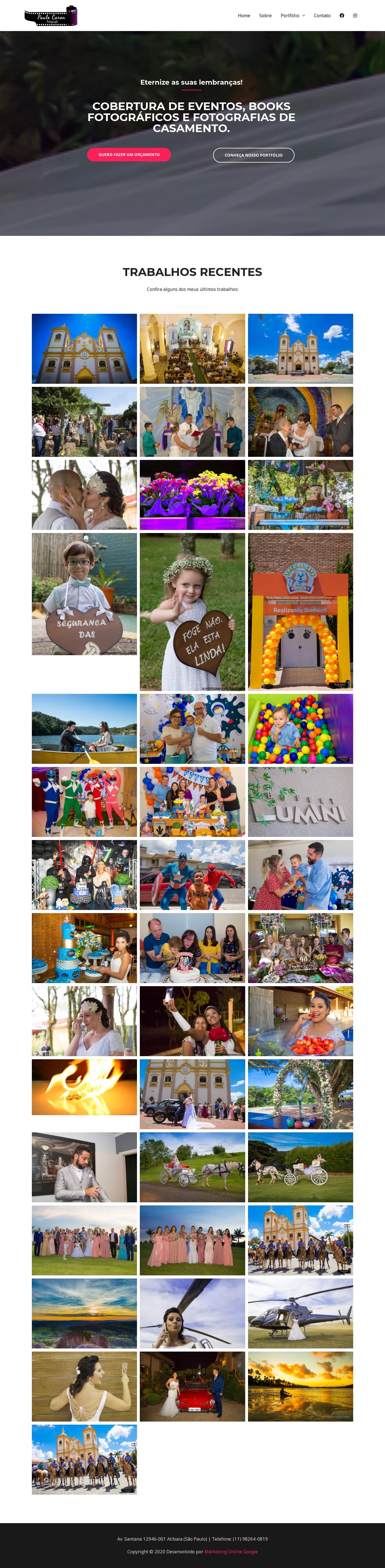 Cobertura De Eventos, Books Fotográficos E Fotografias De Casamento.